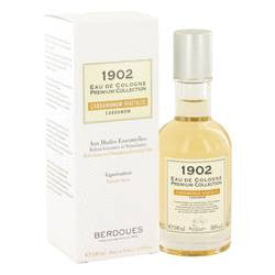 1902 Cardamom Eau De Cologne Spray By Berdoues - 3.3 oz Eau De Cologne Spray - Berdoues
