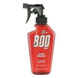 Bod Man Most Wanted Fragrance Body Spray By Parfums De Coeur - 8 oz Fragrance Body Spray - Parfums De Coeur
