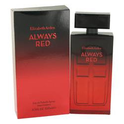 Always Red Eau De Toilette Spray By Elizabeth Arden - 3.4 oz Eau De Toilette Spray - Elizabeth Arden