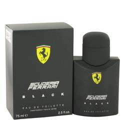 Ferrari Scuderia Black Eau De Toilette Spray By Ferrari - 2.5 oz Eau De Toilette Spray - Ferrari - 1