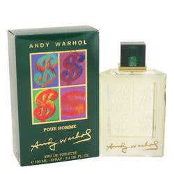 Andy Warhol Eau De Toilette Spray By Andy Warhol - 3.4 oz Eau De Toilette Spray - Andy Warhol