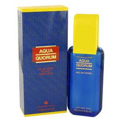 Aqua Quorum Eau De Toilette Spray By Antonio Puig - 3.4 oz Eau De Toilette Spray - Antonio Puig
