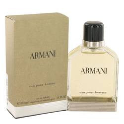 Armani Eau De Toilette Spray By Giorgio Armani - 3.4 oz Eau De Toilette Spray - Giorgio Armani