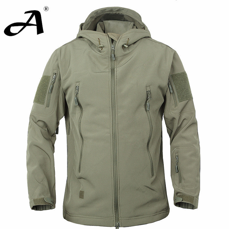 Army Camouflage Coat Military Jacket Waterproof Windbreaker Raincoat Hunting Clothes Army Jacket Men Outdoor Jackets And Coats -  - Houzz of Threadz - 1