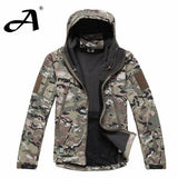 Army Camouflage Coat Military Jacket Waterproof Windbreaker Raincoat Hunting Clothes Army Jacket Men Outdoor Jackets And Coats - CP / XS - Houzz of Threadz - 2