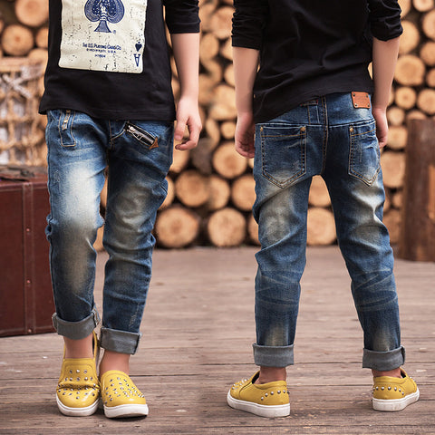 Boys Slim Fitting Jeans -  - Houzz of Threadz - 1