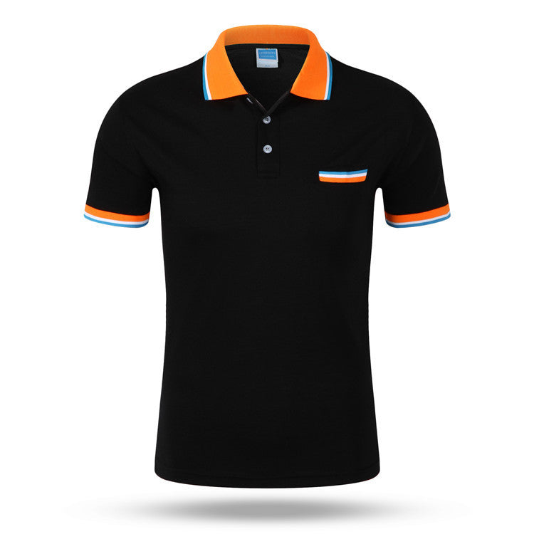 2016 top fashion New Brand Men's Polo Shirts Summer Style Polos Short Sleeve Solid Shirt Sports Jerseys Golf Tennis Blouse -  - Houzz of Threadz - 1