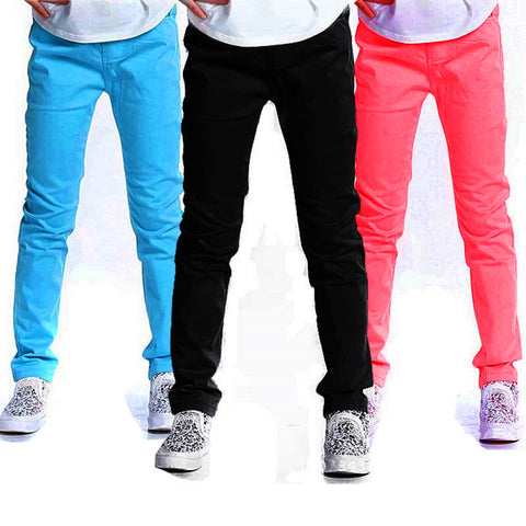 Candy Color Skinny Jeans Girls -  - Houzz of Threadz - 1
