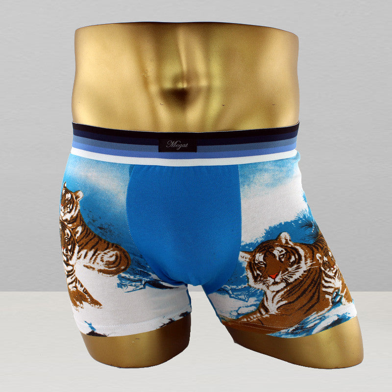 Men Fashion Boxer Briefs - B1 / L - Houzz of Threadz