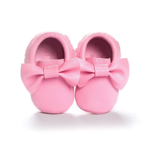Girls Prewalker Moccasins 0-18M -  - Houzz of Threadz - 1