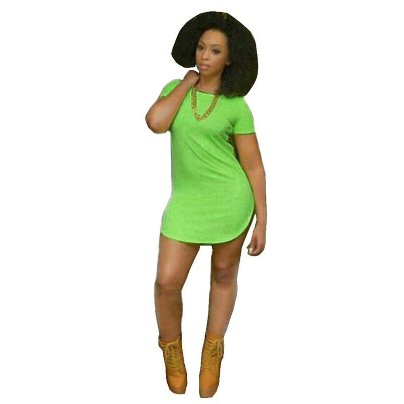 2016 Night Club Party Dress Summer Style Women Shirt Dress Bandage Bodycon Beach Dress -  - Houzz of Threadz - 1
