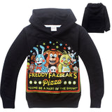 2016 New Hot kids Hoodies kids boys girls spring autumn thin sweater Long Sleeve Outwear baby clothes - Black 1 / 4T - Houzz of Threadz - 2