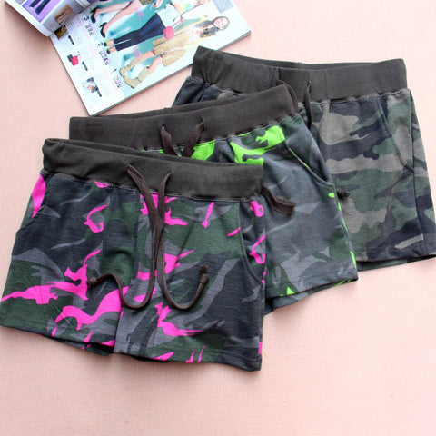 2016 summer loose women sport shorts Camouflage Military Green shorts Casual Army trousers Surfing GYM Joggers WQ85 -  - Houzz of Threadz