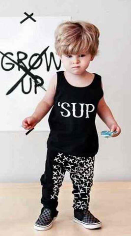 2016 Baby Girls Clothes Letter Printed Infant Clothing Summer Newborn Baby Boys Clothes Next Bebek Giyim Kids Baby Sets - as picture 11 / 0-3 months - Houzz of Threadz - 1
