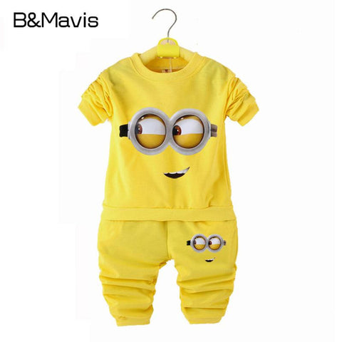 Minions Baby Set -  - Houzz of Threadz - 1