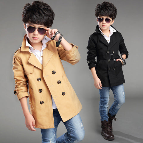 Boy'sTrench Autumn Jacket -  - Houzz of Threadz - 1