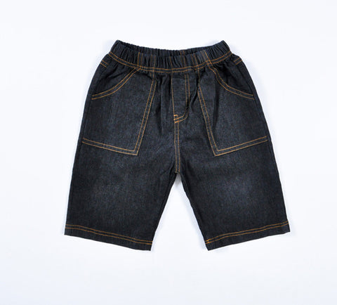 Boys Casual Denim Shorts -  - Houzz of Threadz - 1