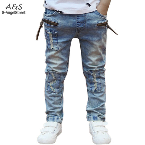 2016 spring & autumn new children's jeans boys wild baby kids fashion jeans children jeans new -  - Houzz of Threadz