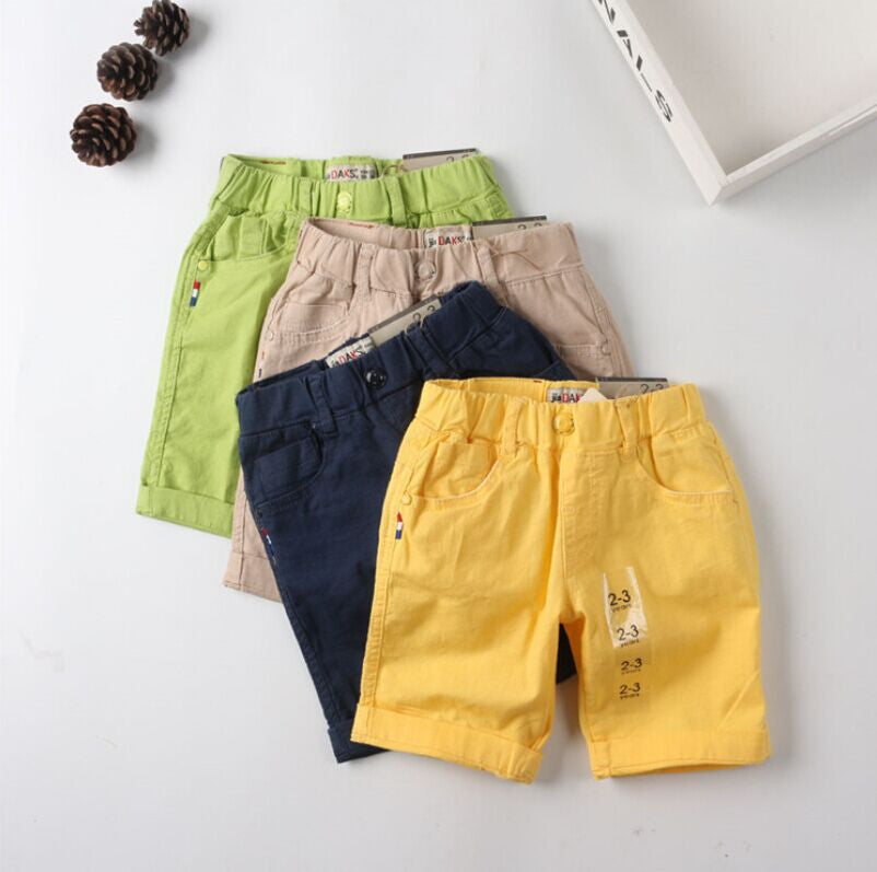 2016 New summer kids pants boys shorts baby&kids brand pants jeans kids baby shorts boys linen short designer pants size 2-8t -  - Houzz of Threadz - 1
