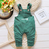 Children's Striped Overalls - image color 1 / 12M - Houzz of Threadz - 5