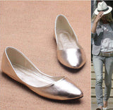 Spring & Autumn Casual  Women  Flats With Pointed Toe. -  - Houzz of Threadz - 10
