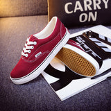 Women Canvas Casual Flat Shoes Low Breathable Solid Color  Candy Colors Leisure Cloth Shoes -  - Houzz of Threadz - 9