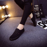 Women Canvas Casual Flat Shoes Low Breathable Solid Color  Candy Colors Leisure Cloth Shoes -  - Houzz of Threadz - 29