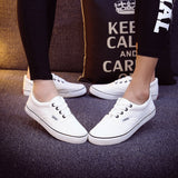 Women Canvas Casual Flat Shoes Low Breathable Solid Color  Candy Colors Leisure Cloth Shoes -  - Houzz of Threadz - 26