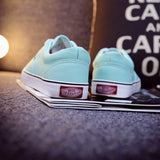 Women Canvas Casual Flat Shoes Low Breathable Solid Color  Candy Colors Leisure Cloth Shoes -  - Houzz of Threadz - 6