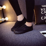 Women Canvas Casual Flat Shoes Low Breathable Solid Color  Candy Colors Leisure Cloth Shoes -  - Houzz of Threadz - 57
