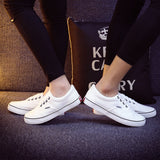 Women Canvas Casual Flat Shoes Low Breathable Solid Color  Candy Colors Leisure Cloth Shoes -  - Houzz of Threadz - 56