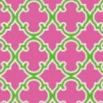 Moroccan Pink Green