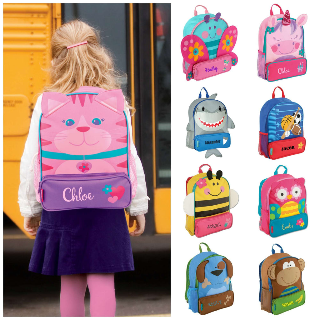 5df1688473 Personalized Preschool Backpack - Stephen Joseph - Sidekick