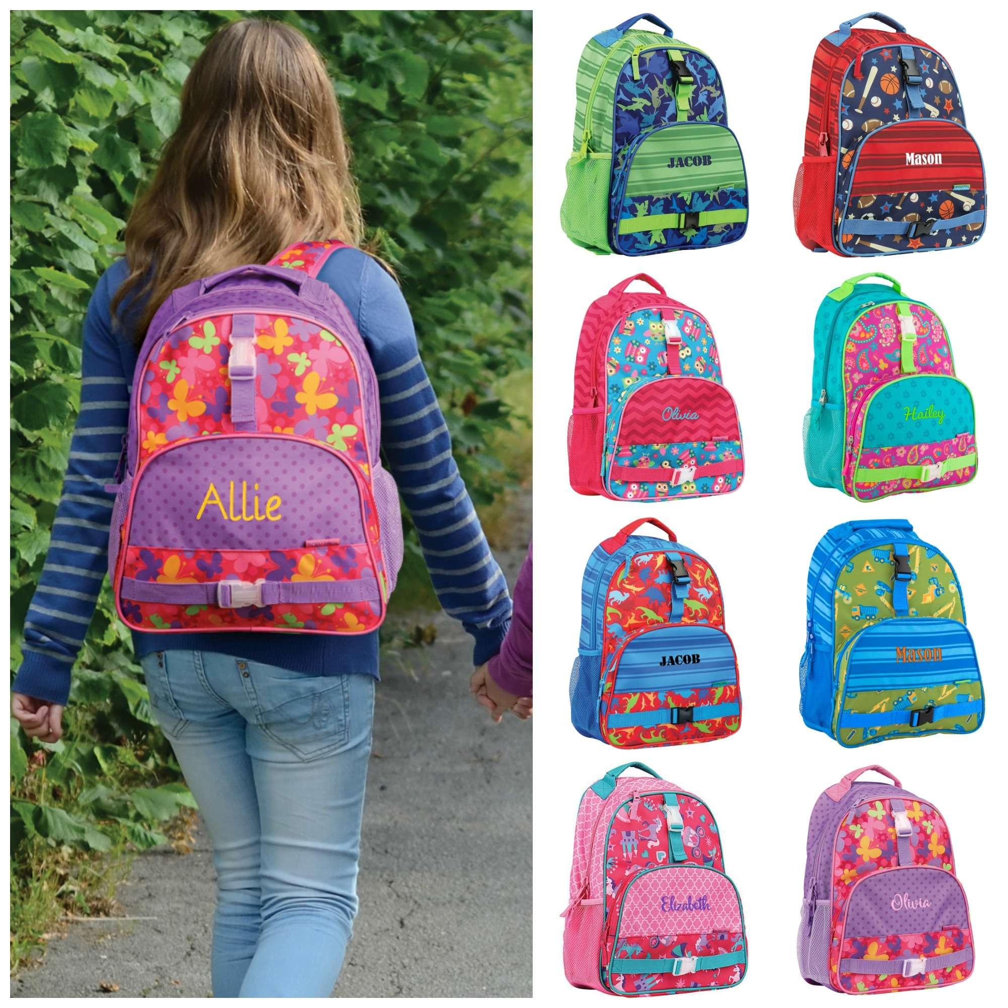 Personalized Kids Backpack - Stephen Joseph - All Over Print – Gifts ... 14c6097da5dfe