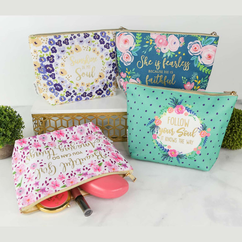 "10"" Inspiration Cosmetic Bag Pouch"
