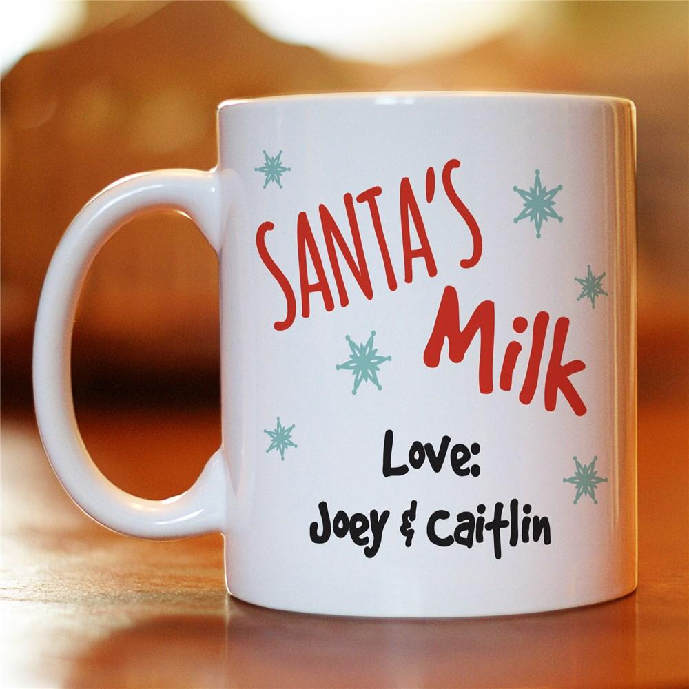 Personalized Cookies For Santa Mug