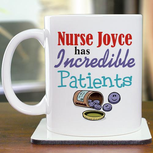 Personalized Incredible Patients Coffee Mug