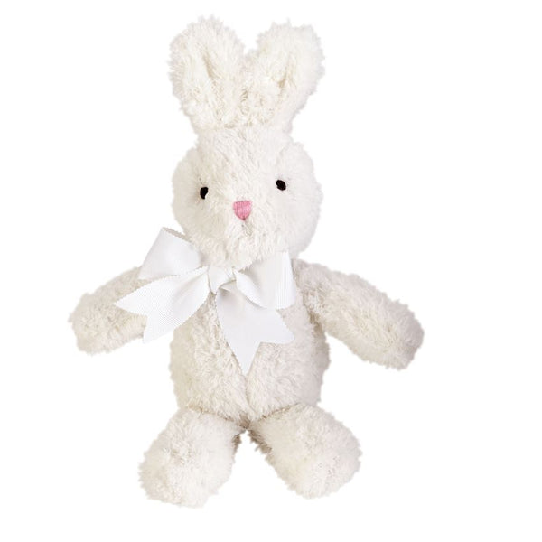 "11"" Soft Chenille Easter Bunny - Blue, Pink & Cream by Mud Pie"