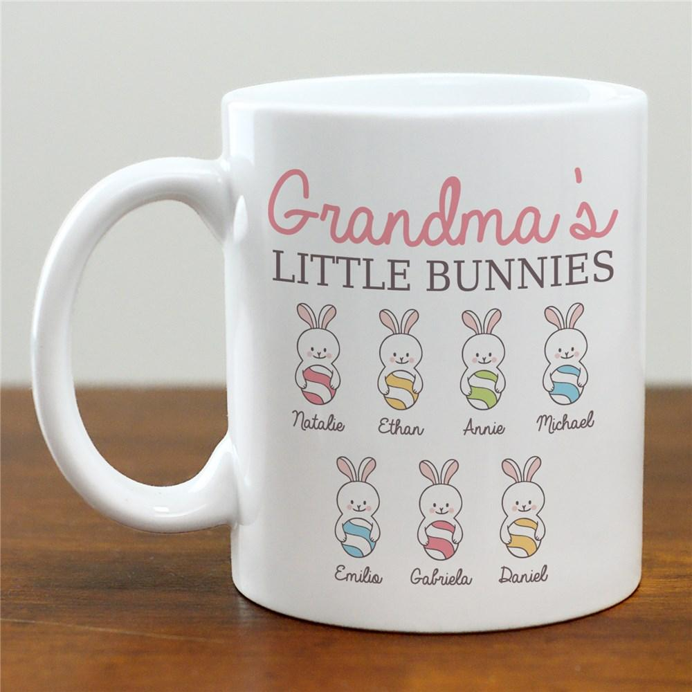 Personalized Grandma's Little Bunnies Mug