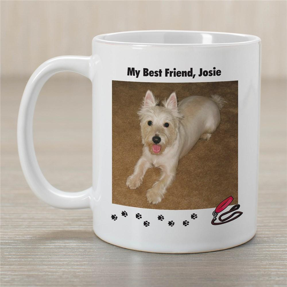 Personalized My Best Friend Dog Photo Coffee Mug