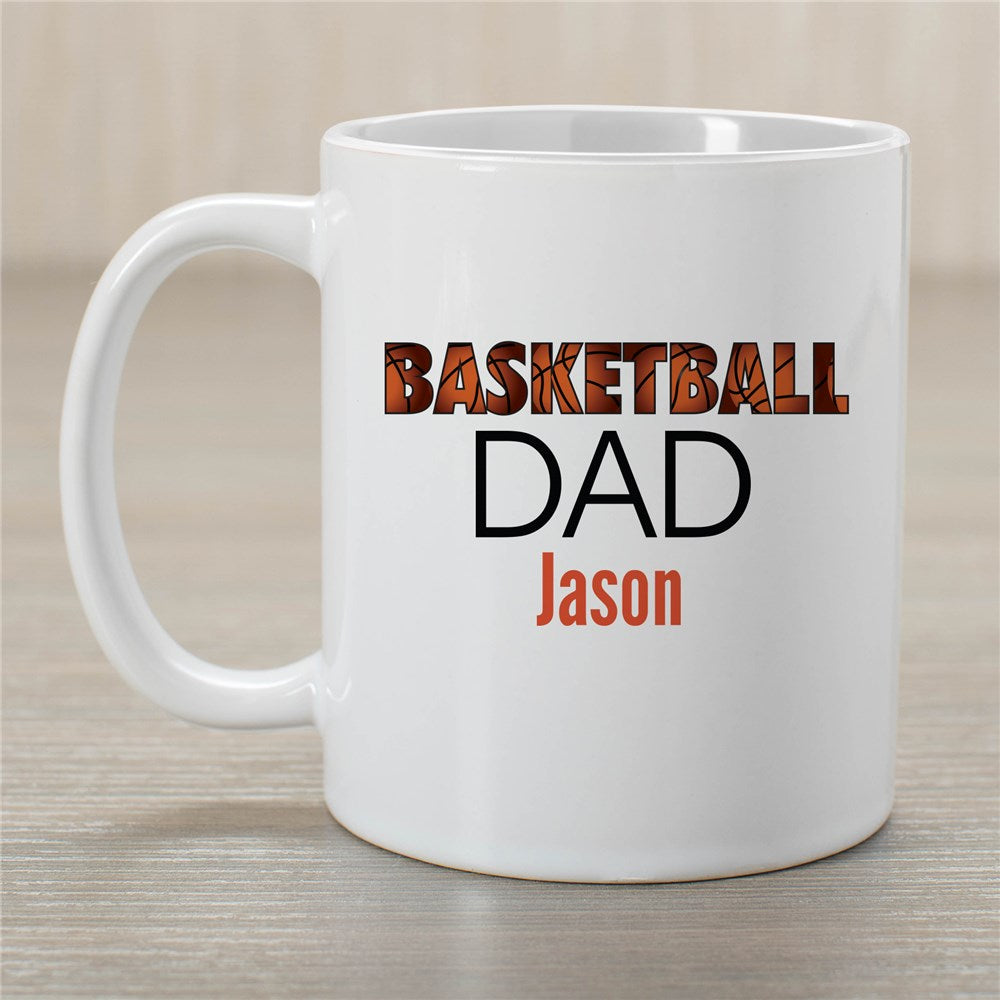 Personalized Basketball Dad Mug