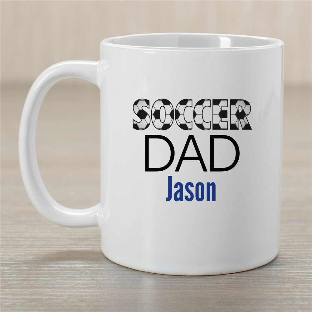 Personalized Soccer Dad Mug
