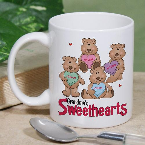 Personalized Beary Cute Love Mug - Valentine's Day Gift