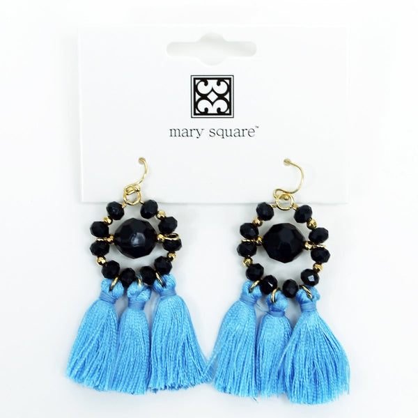 Tassel Earrings - Team Colors