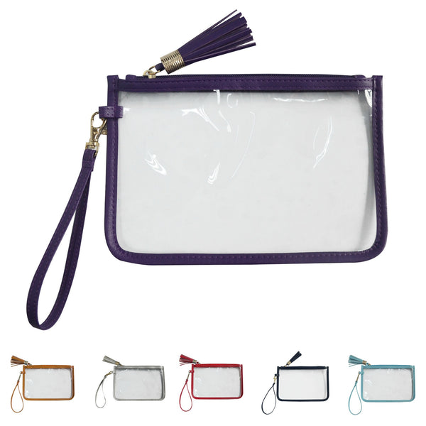 Stadium Bag Clear Wristlet