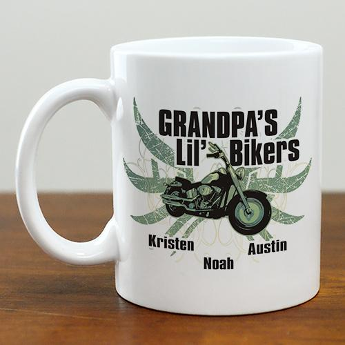 Personalized Lil Bikers Ceramic Coffee Mug