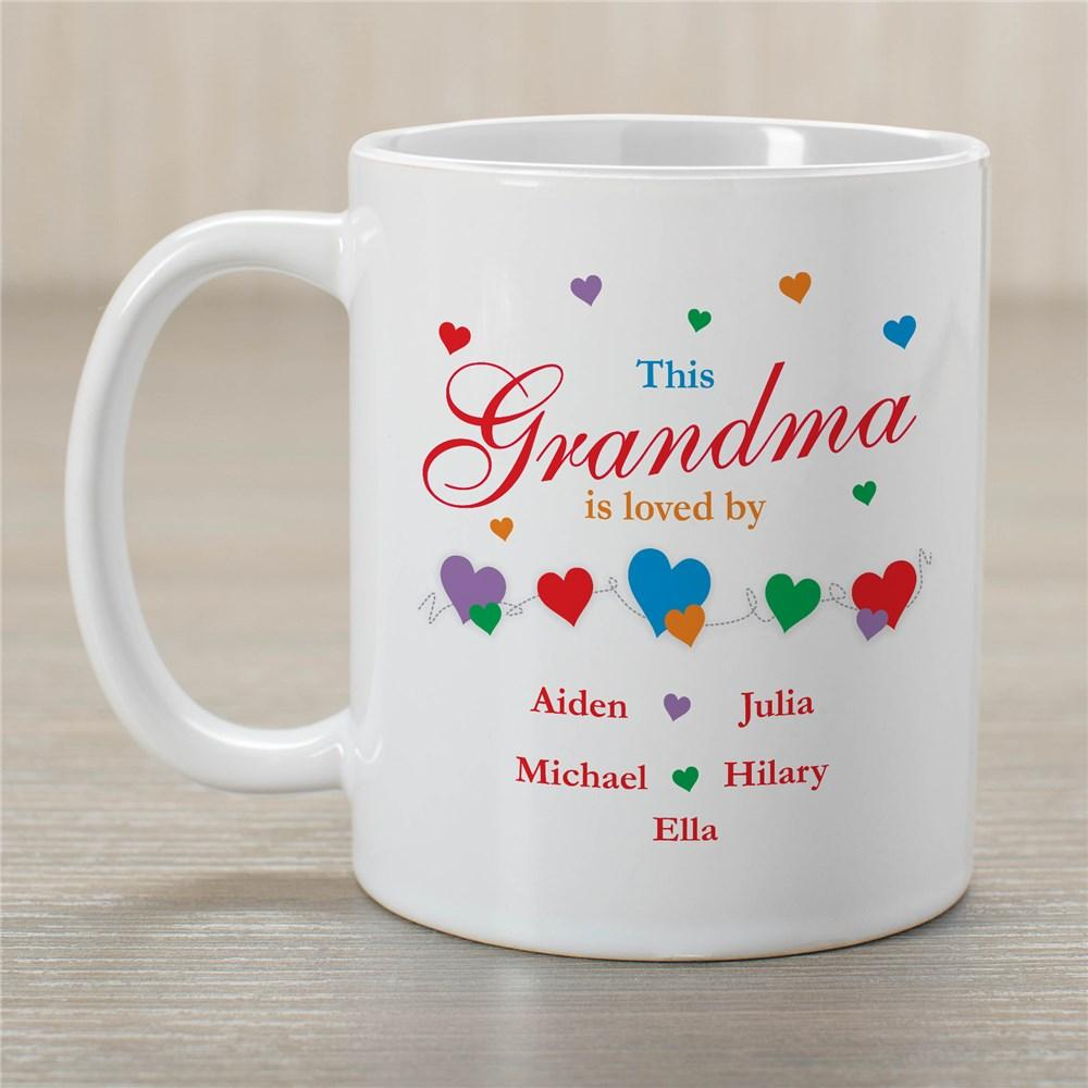 Personalized Is Loved By Coffee Mug