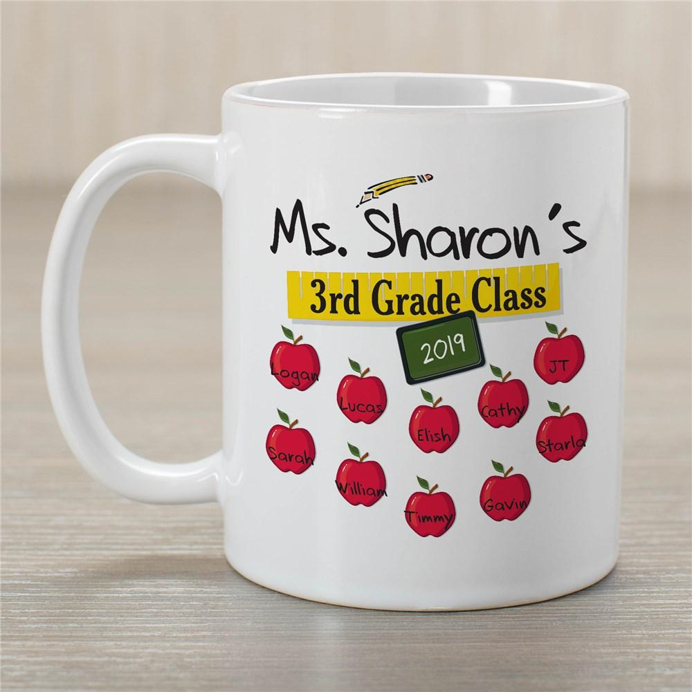 Personalized Teacher's Class Teacher Coffee Mug