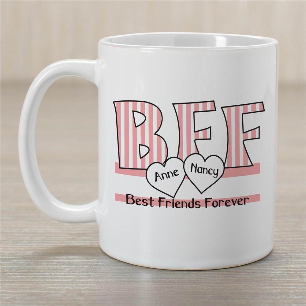Personalized Bff Ceramic Coffee Mug