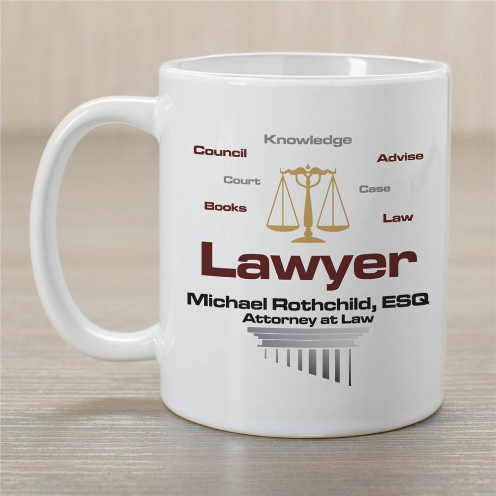 Personalized Lawyer Mug